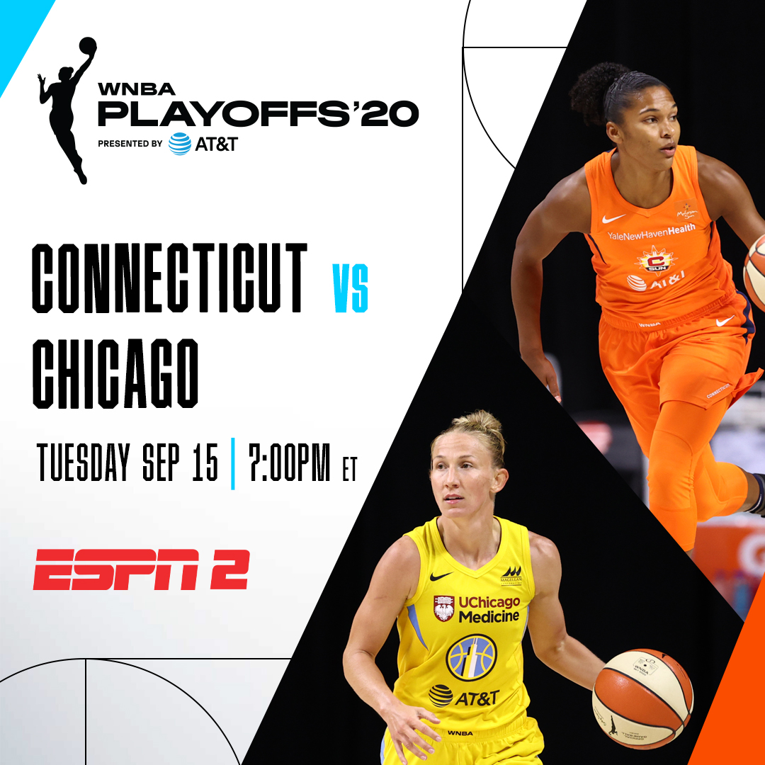 The 2020 #ATTPlayoffs tip off TODAY 🚨  Tune in to 📺 ESPN2 to catch the First Round! #WNBA https://t.co/DUlchi4I3w