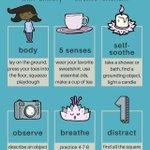 Image for the Tweet beginning: Six Ways To Practice Grounding #anxiety #mentalhealth #wellness