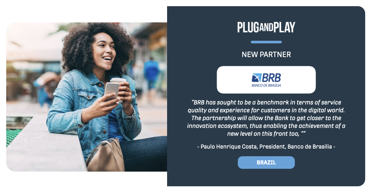 We are delighted to announce a fireside chat we will be hosting with our newest partner, @BRB_oficial. We'll look at BRBs innovation strategy and learn about their vision.   Read more: https://t.co/LYe0Zlg3gi Register 👉 https://t.co/tkw5vL0MoZ  #PnPNewPartner https://t.co/d8rTzZJyYG