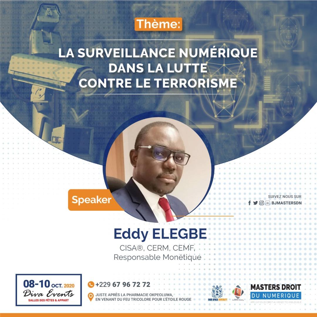 Eddy ELEGBE est cadre de banque, auditeur des SI et passionné de sécurité informatique. Nos apprendrons de ses astuces pour mieux nous apprêter aux cybermenaces. Obtenez votre pass maintenant 👉https://t.co/Aay8Dg9b8X #droitnumerique #BJMasterDN https://t.co/Dow3feLokP