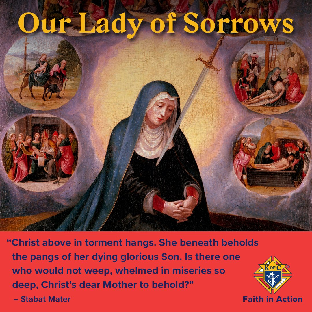 @KofC's photo on Our Lady of Sorrows