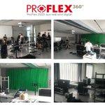 Image for the Tweet beginning: Der Aufbau für die #ProFlex360°:
