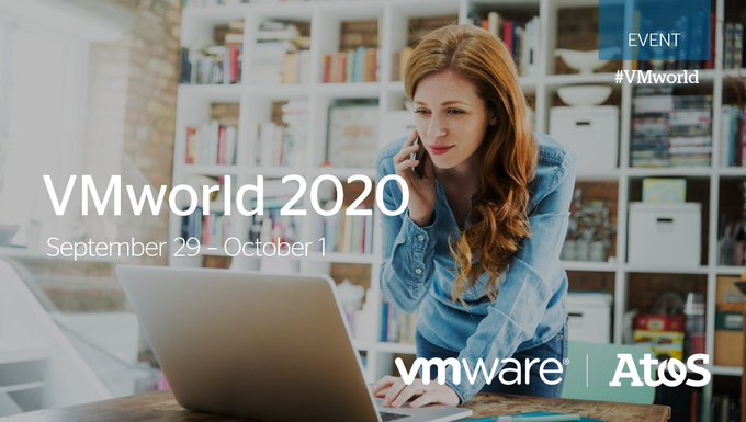 Register at #VMworld 2020 and learn how Atos and @VMware co-innovate to deliver...