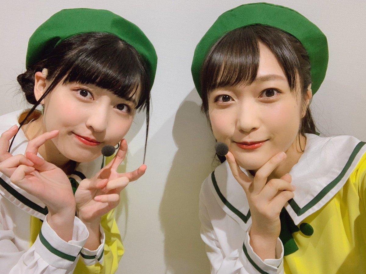 虹ヶ咲2ndライブのオフショット  いろんな衣装を着れて楽しかったな~!