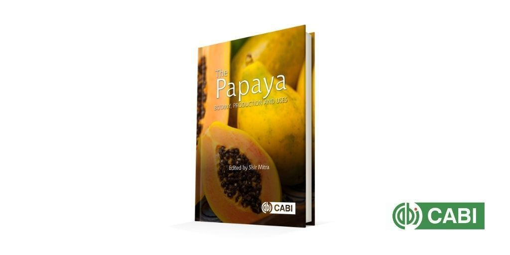 Now published: The Papaya, edited by Sisir Mitra @ishs_hort, covers research developments with potential to improve crop yields and quality. It looks at analysis of the papaya genome that creates faster breeding techniques, and how these tackle disease.  https://t.co/5vwTQzAj2T https://t.co/eJZlXAuDSC