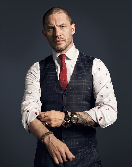 Wishing a very happy birthday to Tom Hardy.      . Image Via: . .