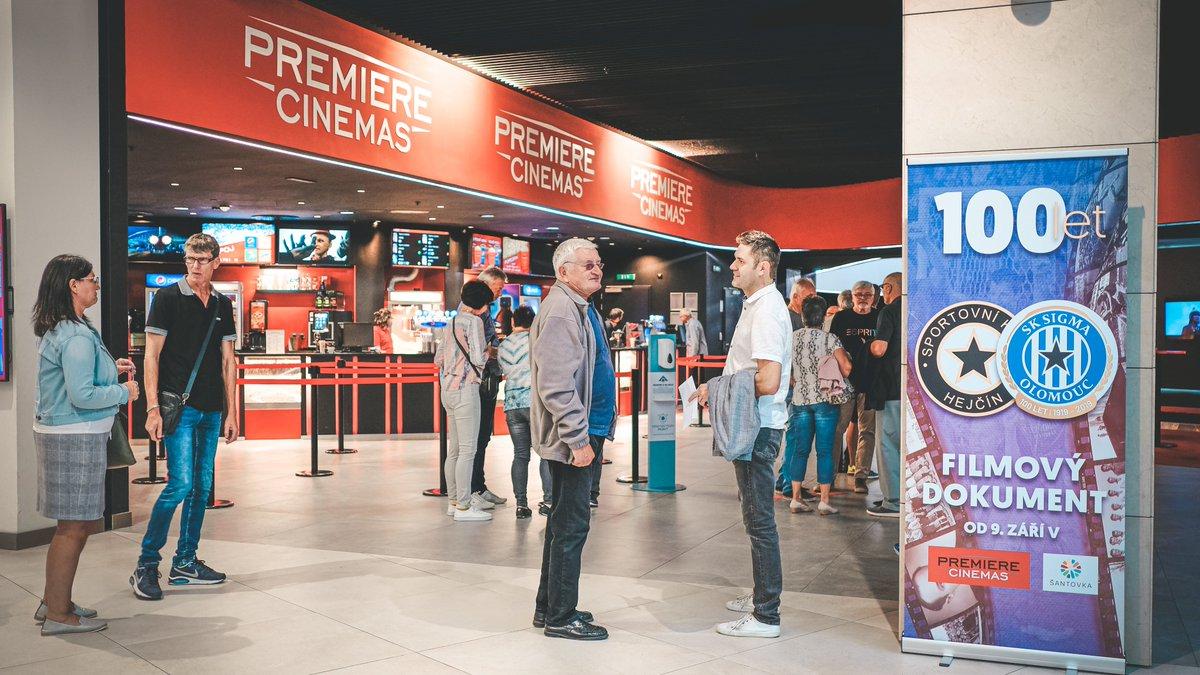 🎥 Film Sigma stoletá se bude promítat v Praze! Šanci ponořit se do klubové historie tak mají i fanoušci Sigmy žijící v našem hlavním městě.  📆 Projekce se uskuteční 23. září ve dvou časech 18:30 a 20:30 v Premiere Cinemas Praha-Hostivař. https://t.co/O5hgspepHf