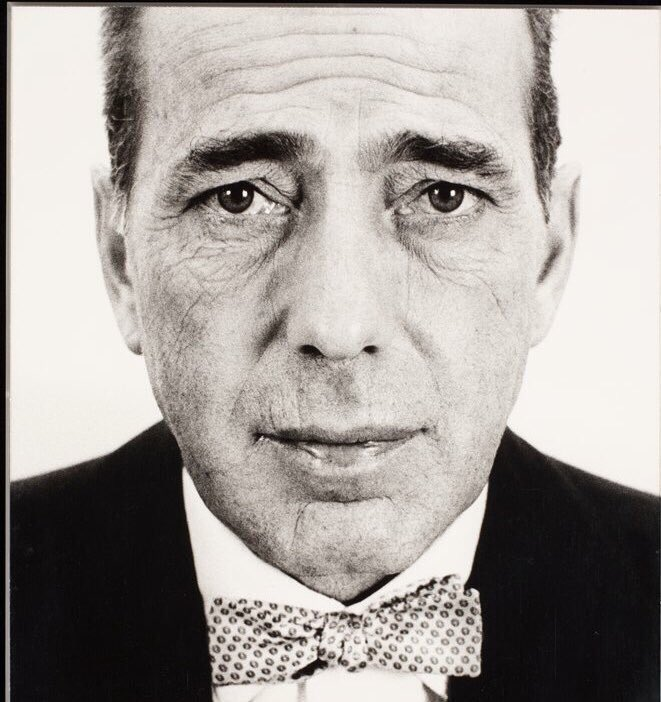 """I'm not good-looking. What I have got is I have character in my face. it's taken an awful lot of late nights and drinking. When I go to work in a picture, I say, 'Don't take the lines out of my face. Leave them there""  HUMPHREY BOGART (photo: Richard Avedon) https://t.co/jBUEOckvJ4"