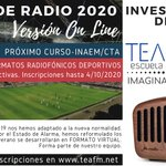 Image for the Tweet beginning: Deporte y Radio. Binomio de