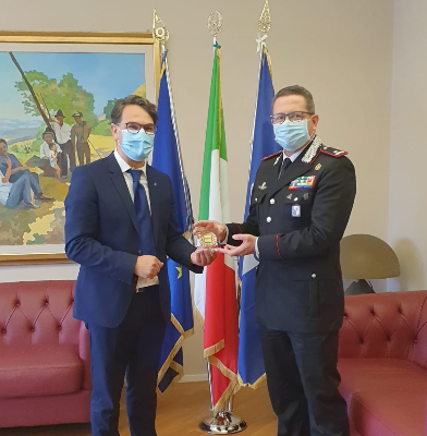 @Carmine_Cicala incontra neo comandante Legione Ca...