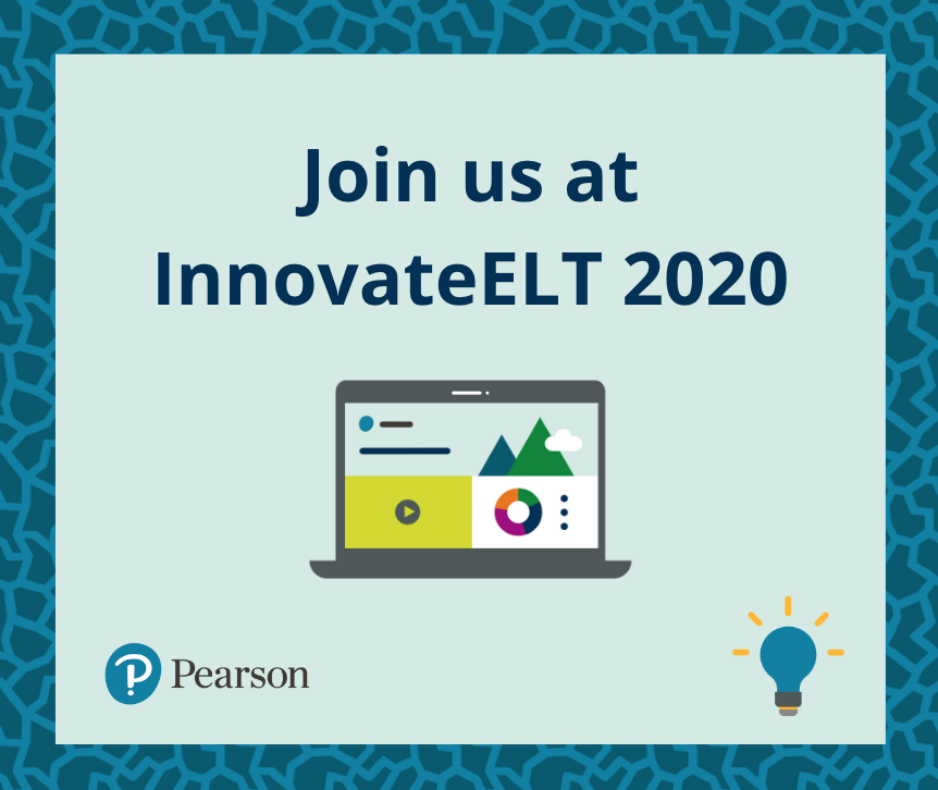 Pearson English are proud to sponsor @InnovateELT again this year.   The event is taking place online this Friday and Saturday (18th - 19th September) and you can enjoy workshops, live demo classes, interactive discussions and more!   Buy tickets here: https://t.co/FPWJiuiE52 https://t.co/395za8i2Fs