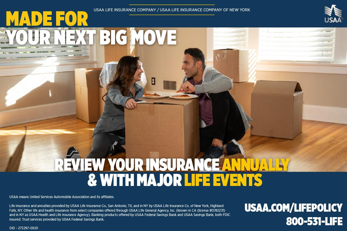 """USAA on Twitter: """"For many, a new home means a new mortgage. Life insurance  coverage can help pay off liabilities and debts. Review your life insurance  at https://t.co/tv3k7TorMf. #LifeInsuranceAwarenessMonth  https://t.co/yin3LA7CJK"""" / Twitter"""