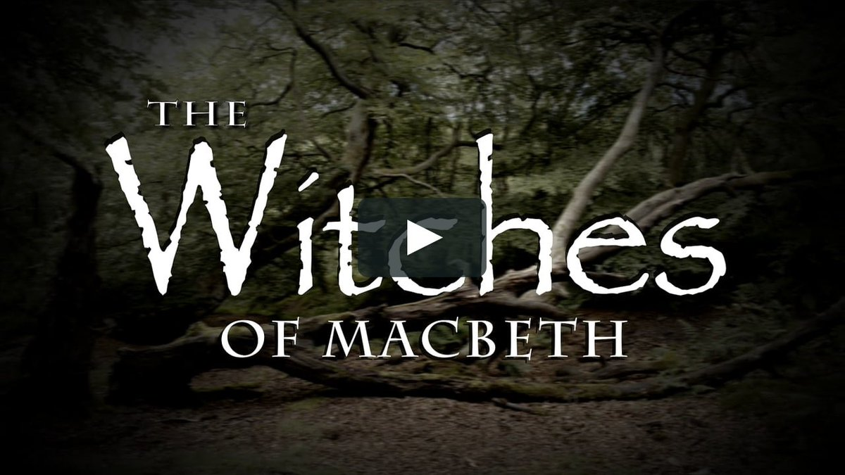 By the pricking of my thumbs... I sense you may have missed The Witches of Macbeth by our Acting Up girls! In lieu of their graduation performance, we took to the woods. Watch here: vimeo.com/450312891