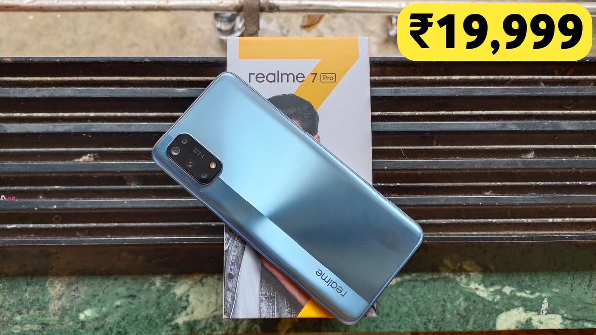 Realme 7 Pro Mirror Silver - Flipkart First Sale Unit Unboxing & Review | Best Phone Under 20,000? 🔥 https://t.co/zbnO5WgrTg  #realme7Pro https://t.co/3o17uzvLlT