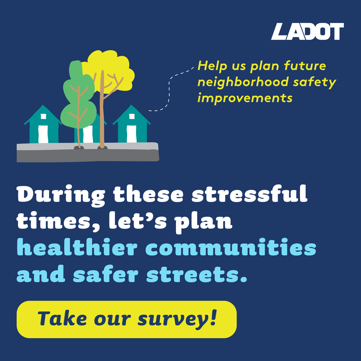 Get involved with our Stress Free Connections campaign. Take our survey and let us know how you'd create safer bike routes in LA! #BikeMonth Speak up here: https://t.co/x2J01ob9c2 https://t.co/wNLZWeHZdR