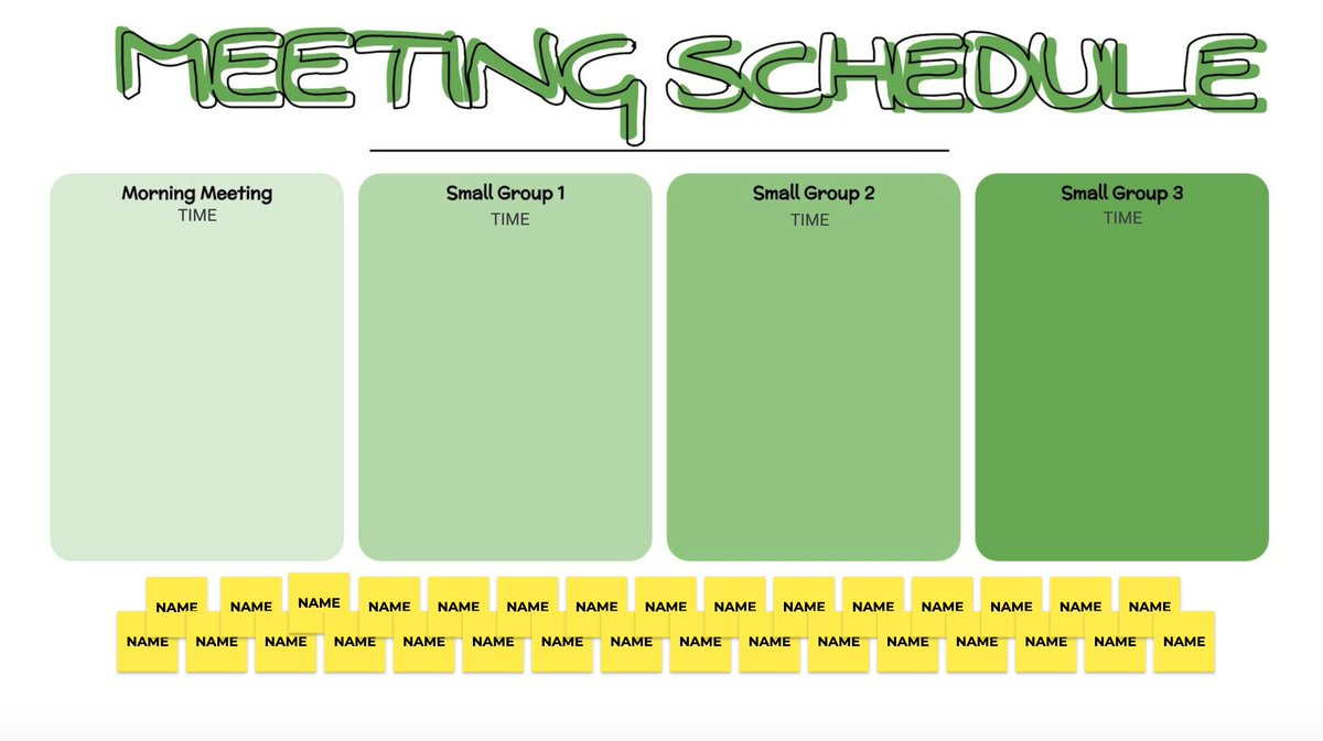 🗓️Meeting Schedule🗓️ Use Jamboard to organize your groups in live time. Pick the option you want, and delete the reset!  Template Copy - https://t.co/K8dynNDp59  #distancelearning #remotelearning #googleEDU https://t.co/1PwtF8aZRW