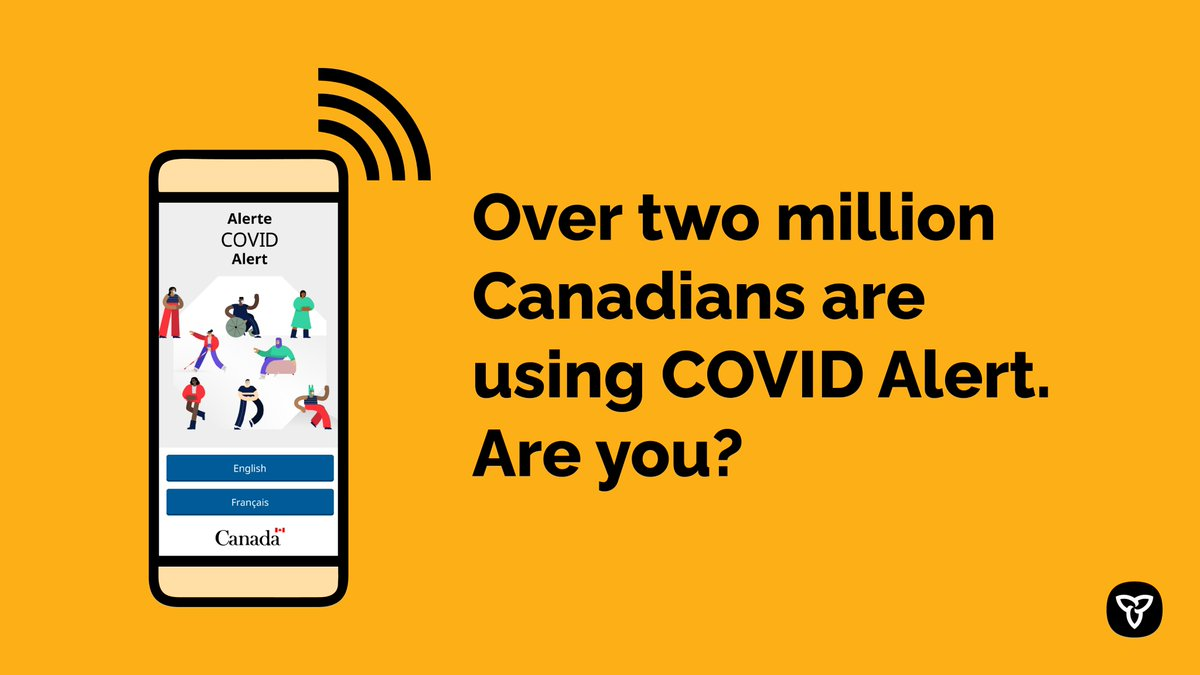 Ontario Government On Twitter Join The Two Million Canadians Working To Stopthespread And Keep Their Communities Safe By Downloading Covidalert Canada S Free Covid 19 Exposure Notification Mobile App Protects Your Health And Your