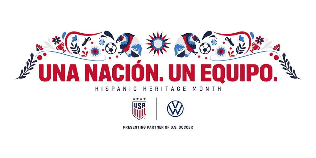 Una Nación. Un Equipo. One Nation. One Team. Happy #HispanicHeritageMonth!
