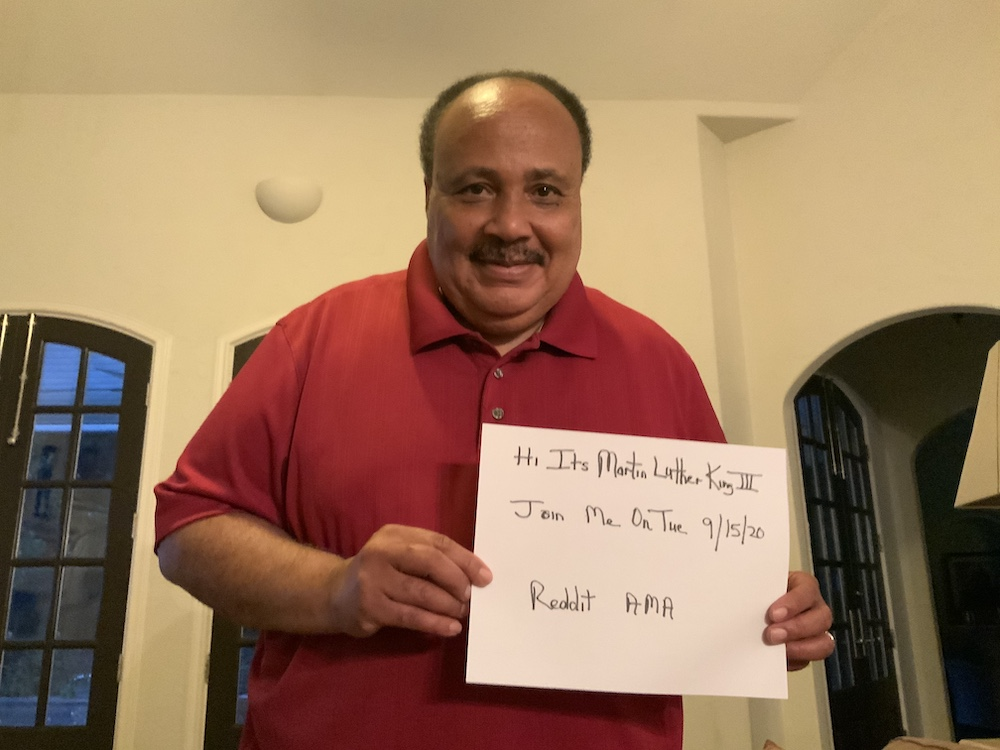 🚨Coming up at 1 p.m. ET 🚨  Hang out with @OfficialMLK3 as he takes your questions on @Reddit https://t.co/RtSSXo8h6z