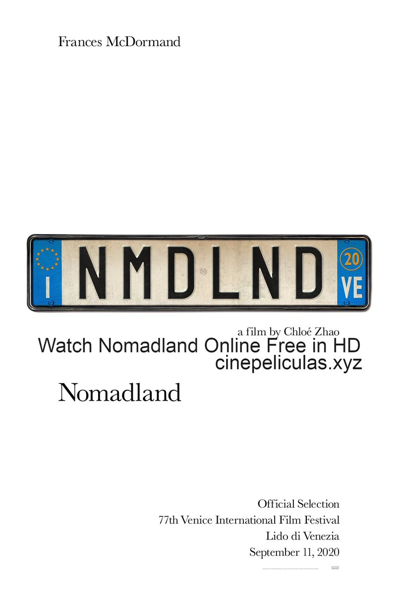 Nomadland 2020 Full Movie Free Download Hd