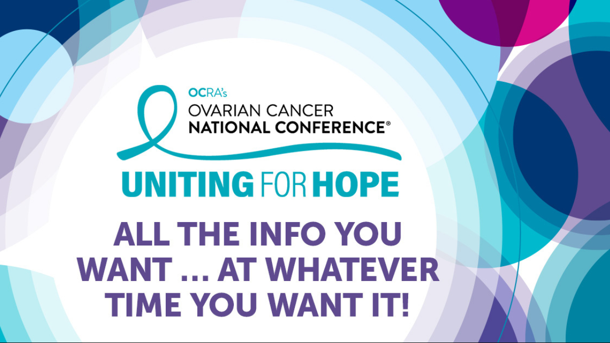 Ovarian Cancer Research Alliance On Twitter One Of The Best Things About Going Virtual With Ovarianconf Is You Ll Be Able To Take In So Much Amazing Info When It S Convenient For You