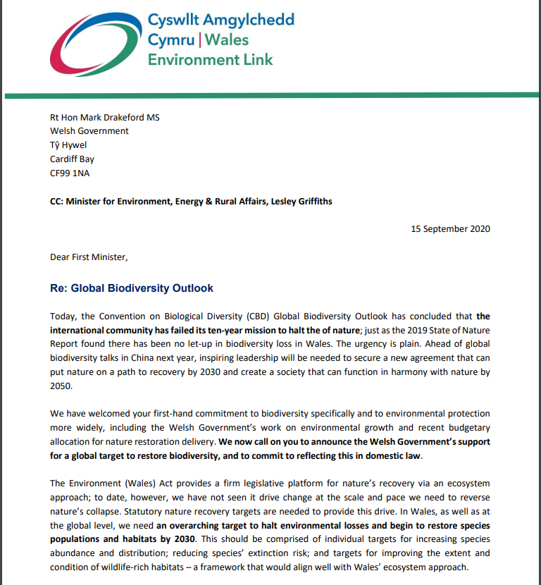 We have written, alongside @WCL_News, @ScotLINK ScotLink & @EnvironmentNI to all four nation leaders. WEL's letter to @fmwales @MarkDrakeford, First Minister of Wales, is online here. https://t.co/mIsoNAuOrQ https://t.co/JWJ9GokoJz