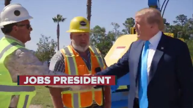 President Trump is the JOBS PRESIDENT!