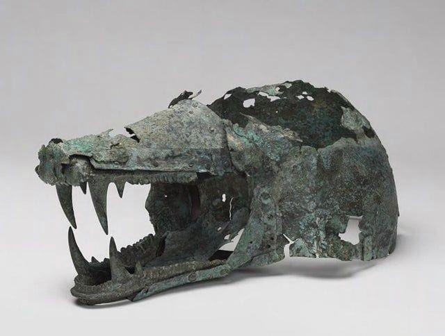 Loving this Etruscan Wolf's Head helmet! hvrd.art/o/304243
