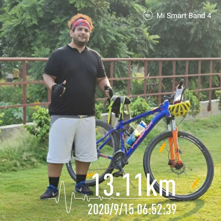 Another day started wid #Morning #Cycle Ride on my #Firefox #Nuke #29er #bike #cycling on #Riverside #Bicycle & #Joggers #Track extension of Leisure Valley 1 & 2 #Ludhiana #municipal #MCL #LeisureValley #Ldh fun wid @firefox_bikes #Engineering #EngineersDay2020 🚲🎶🏁 #kunalsajan https://t.co/WWBlMPb7Rh