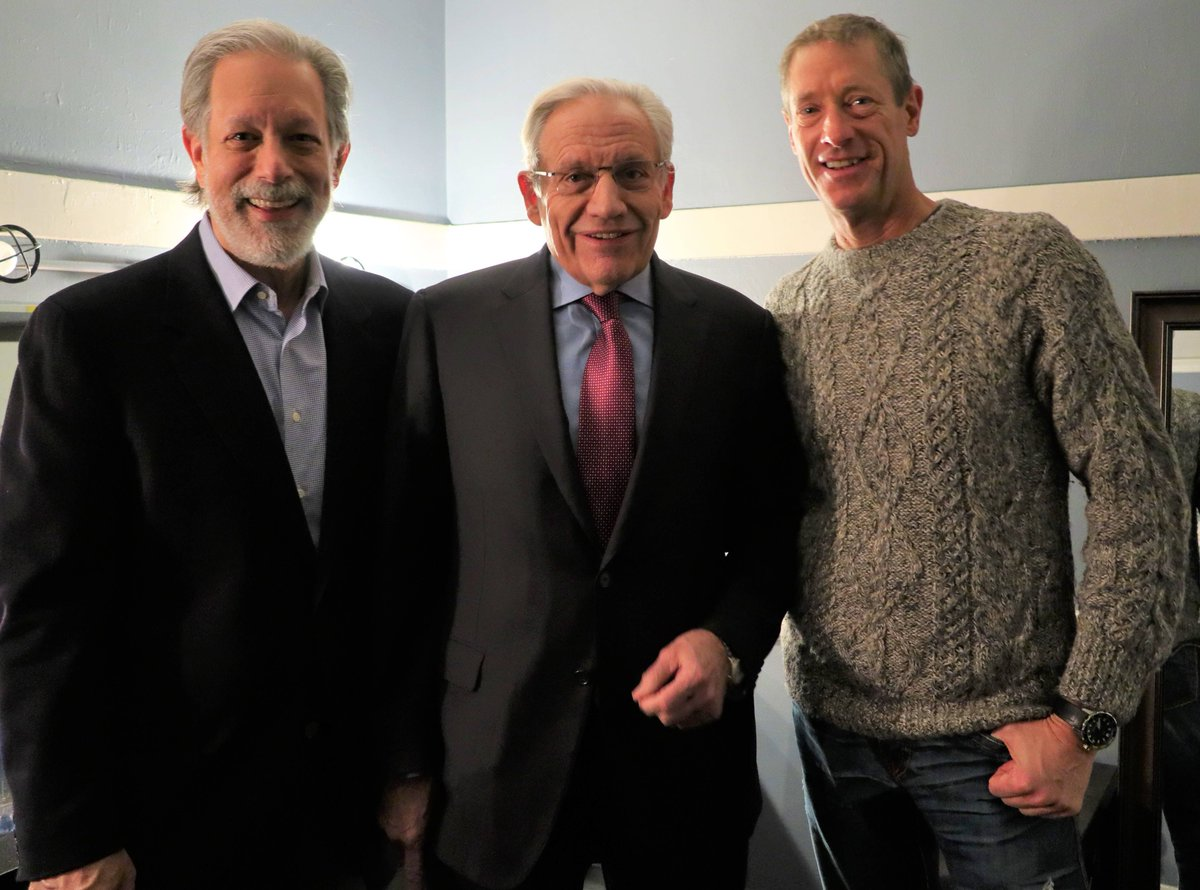 """Congratulations @realBobWoodward on another number 1 bestseller """"Rage"""" which releases today. Bob and I are both represented by Tony D'Amelio @damelionetwork  The 3 of us got together a while back to talk about the intersection of media, politics, and social networks. https://t.co/YEfGPWxnnB"""