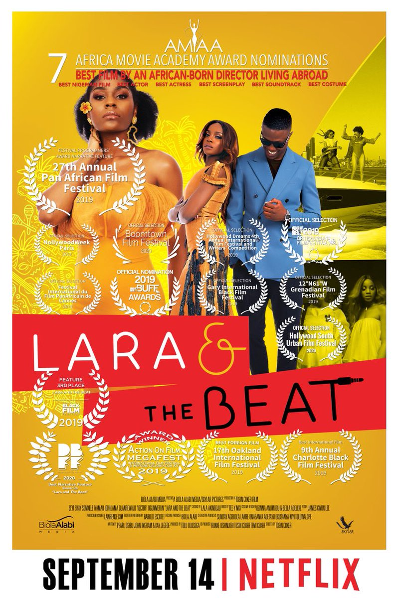 Make una no disturb me, I de chop lara work for Netflix for hand for hand 🙃.  #Laraandthebeat https://t.co/Uxu0Ks4xTy
