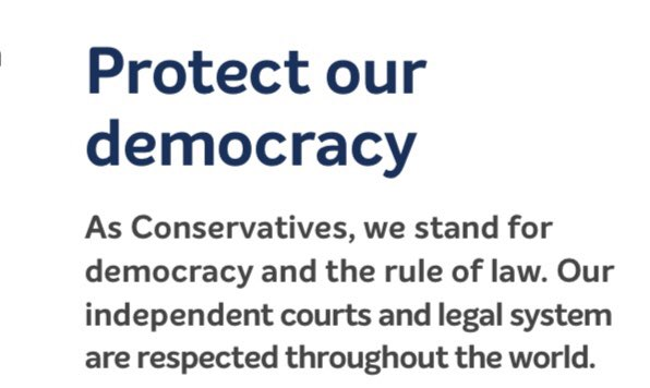 Just seen this in @BorisJohnson's Manifesto.  How ironic that he expects his MPs to break this promise, having removed the Whip from those who saw the flaws in his Withdrawal Agreement. @JolyonMaugham @DominicGrieve1 @thatginamiller @nealerichmond #BrexitShambles @StephenFarryMP https://t.co/NqaaibQUxv