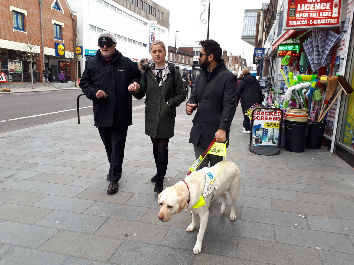 """""""Together, we got a controlled crossing reinstalled making my high street safe for everyone."""" Read about how @BlindDad_Uk campaigned to make his local area more accessible. Please get in touch if you want to campaign with us! https://t.co/OXgKbYYPLr https://t.co/B3kmNWJBnT"""