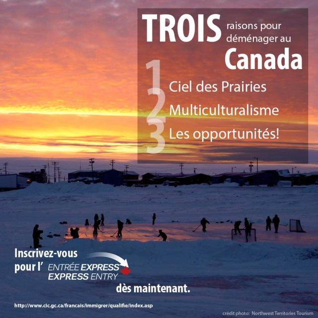 On ne peut pas encore voyager, mais si vous envisagez de travailler au Canada à l'avenir, nous vous donnons #3raisons de soumettre une demande d'immigration sur Entrée Express!  https://t.co/JOal7SHi0l  https://t.co/RkZqBlgkyx https://t.co/qBXdtTl68E