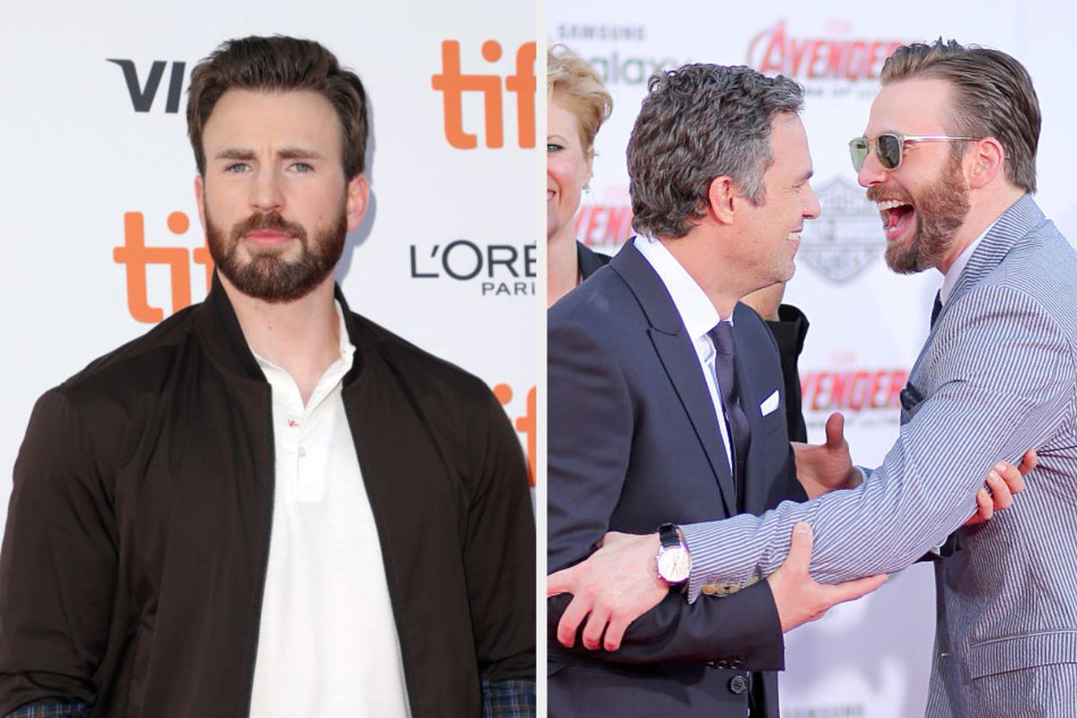 Chris Evans had the best response after his brother and Mark Ruffalo trolled him over that NSFW photo https://t.co/WllRnvRF57 https://t.co/Vg9pWGw2p6