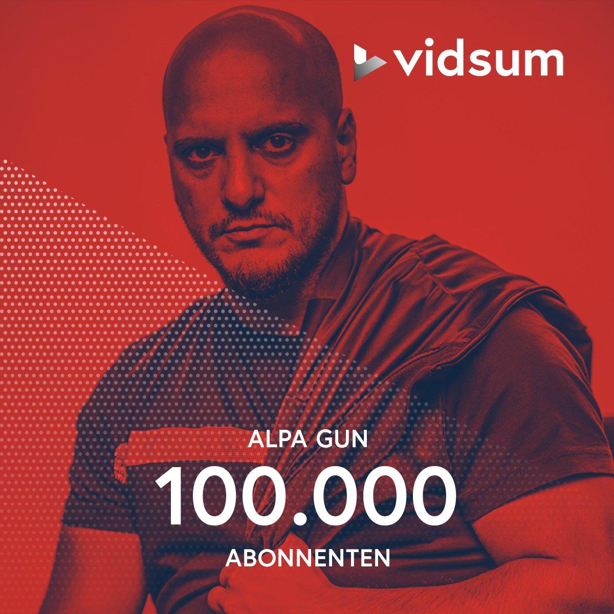 Gratulation an @alpagunberlin der mit seinem Channel https://t.co/Bev3mDQkbe die 100.000 Abonnenten geknackt hat 🚀 https://t.co/IgEkVF9ZU2