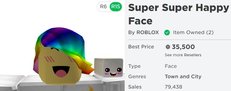 I Got Super Super Happy Face On Roblox Explaining How I Got Patriiotrbx Patriot12armys Twitter