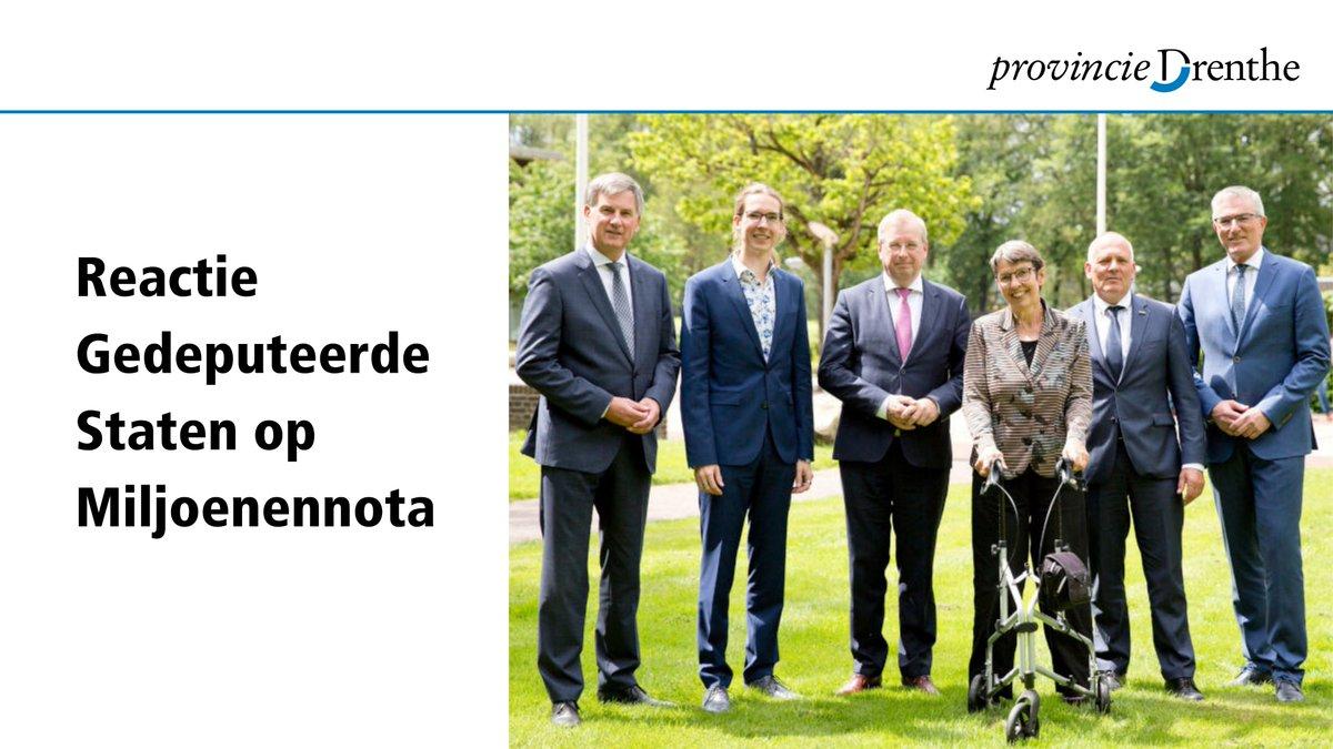 Wat betekent de Miljoenennota voor Drenthe? Hoe kijkt het college van Gedeputeerde Staten naar de besluiten van het kabinet op deze Prinsjesdag 2020? Lees het hier ➡️ https://t.co/VBPM5RhOwB https://t.co/uEbQP212i7