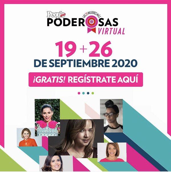 ¡Chicas! Todavía están a tiempo de unirse a esta cumbre virtual de nuestros amigos de @peopleenespanol. ¡Es gratis y estarán sus celebridades favoritas! Aquí toda la información 👉🏽  https://t.co/orkjHVTRX9 https://t.co/PWXMcV08GX