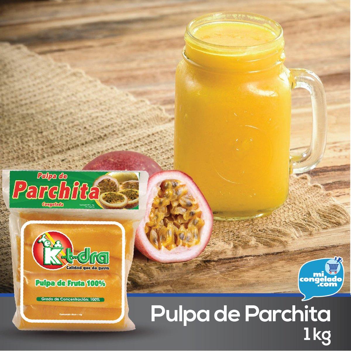 Pulpa de Parchita 100% natural - 1 kg  Disponible Pedidos vía WhatsApp —— #Ktdra #PulpadeFruta #Parchita #Congelada #Micongelado #Delivery #Caracas https://t.co/rWgP51Hsoc