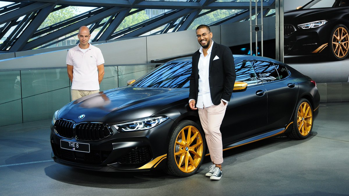 Join our experts: learn all about the colors and materials of BMW luxury models, in the latest #BMWTODAY:  https://t.co/pwl7eAHgYs.  The #BMW M850i xDrive Gran Coupé. Fuel consumption (combined): 10.0–9.9 l/100 km. CO₂ emissions (combined): 229–226 g/km. https://t.co/twXzMrWMl3 https://t.co/vYoi9bD7Xq