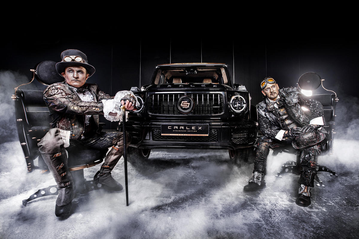 If there was ever a fancy SUV in Mad Max then it would be this $500,000 #steampunk themed @MercedesBenz G-Wagen - https://t.co/BrLuAUpkch