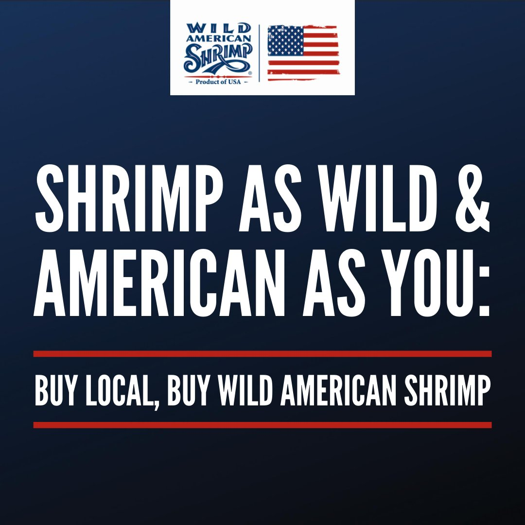 Whether you're buying shrimp from your local grocery store or getting it delivered from your favorite restaurant, be sure to always get wild-caught, American shrimp! Learn more about our delicious Wild American Shrimp at https://t.co/lXQKcR5SXI! #shrimp #buylocal #wildcaught https://t.co/MhM0gRItlU