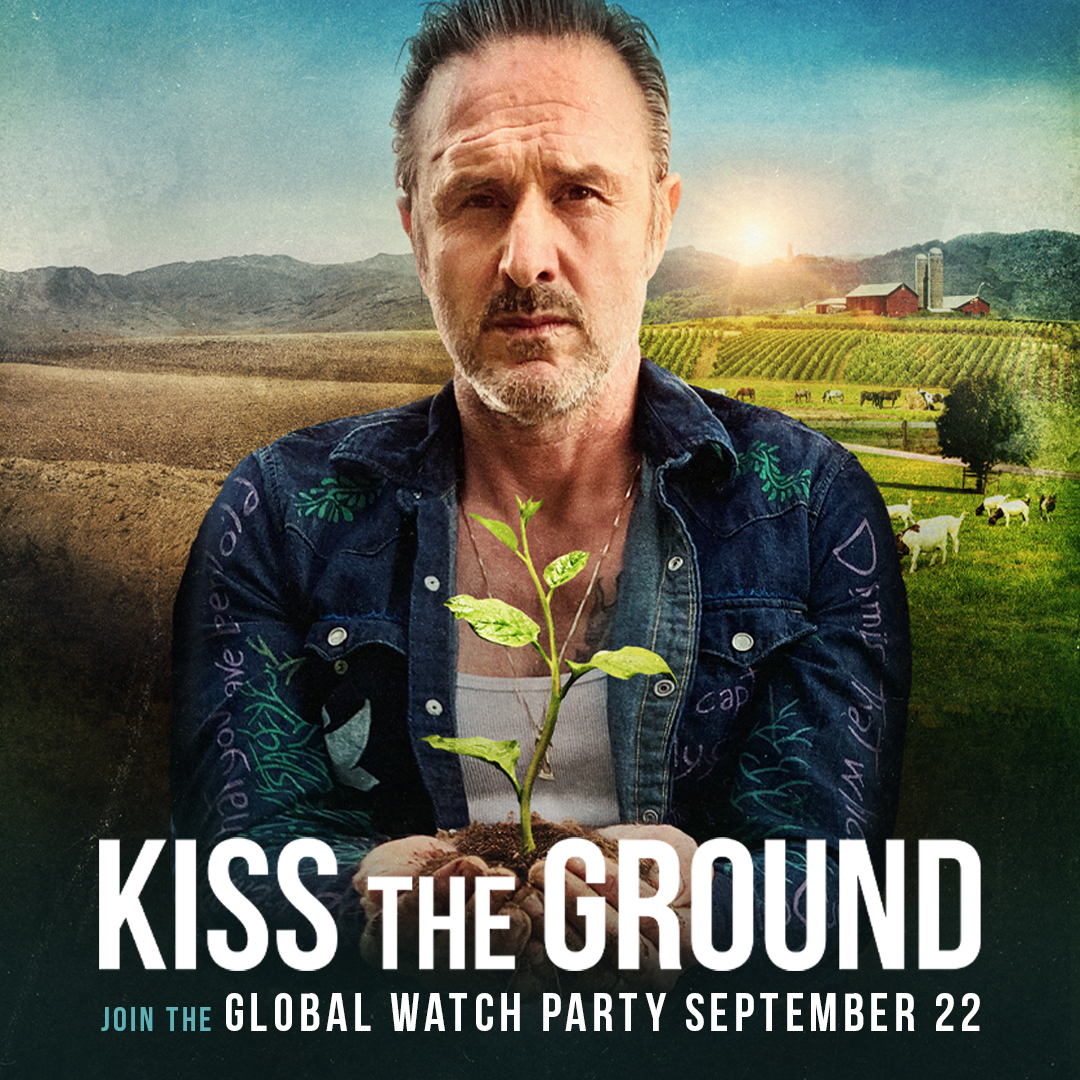 Find out what @DavidArquette knows about the solution for climate change (Hint: It has everything to do with regenerative agriculture). Join him at our global Netflix watch party on September 22! Get a sneak peek at . #ClimateChange