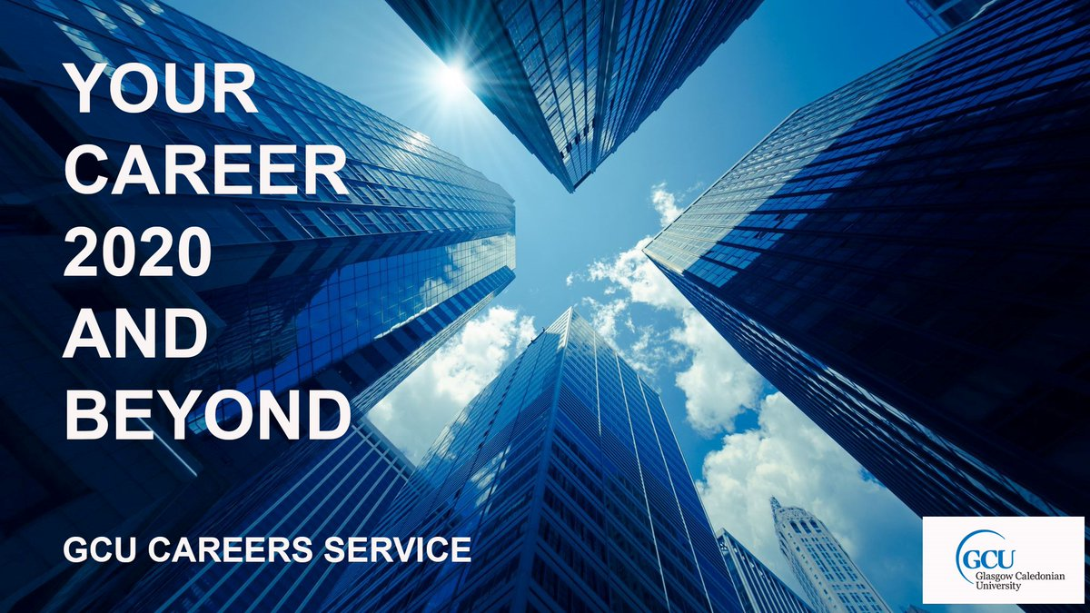 2020 graduates - join @GCUCareers from Mon 7th Sept for #careersweek - a packed week of free online events 👍  Employer-led seminars, careers advice from professionals including searching for a job in a pandemic, video interviewing, CV's and much more. https://t.co/XMqn01hiP4 https://t.co/q36KiQ5Yyb