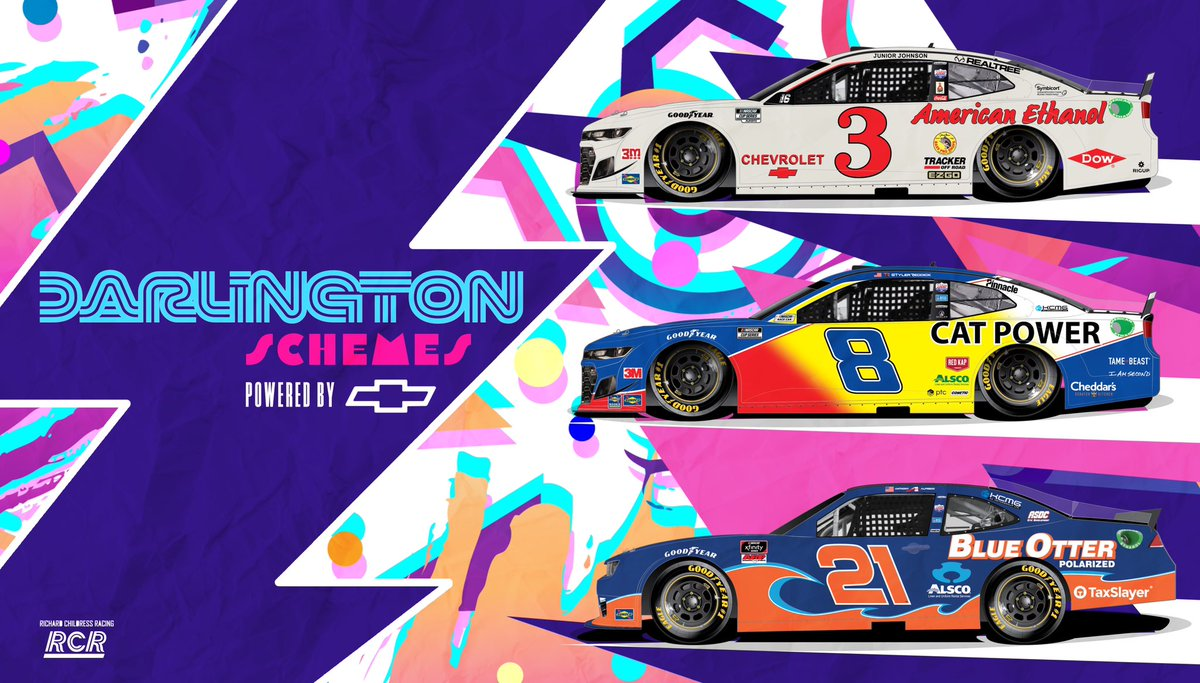 It's going to be a great #NASCARThrowback weekend at @TooToughToTame! 🙌 #RCR