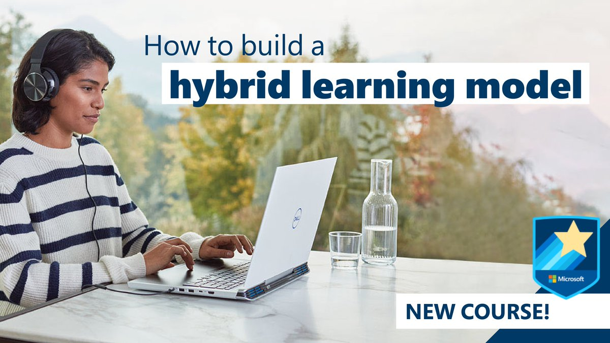 If your school is moving to #HybridLearning, we've got some great tips to help support inclusivity, manage workflow, and boost student engagement. Get all the details in this beginner-level course: https://t.co/2SgyIvyJv3 #MicrosoftEDU https://t.co/xQeNBHNJr0