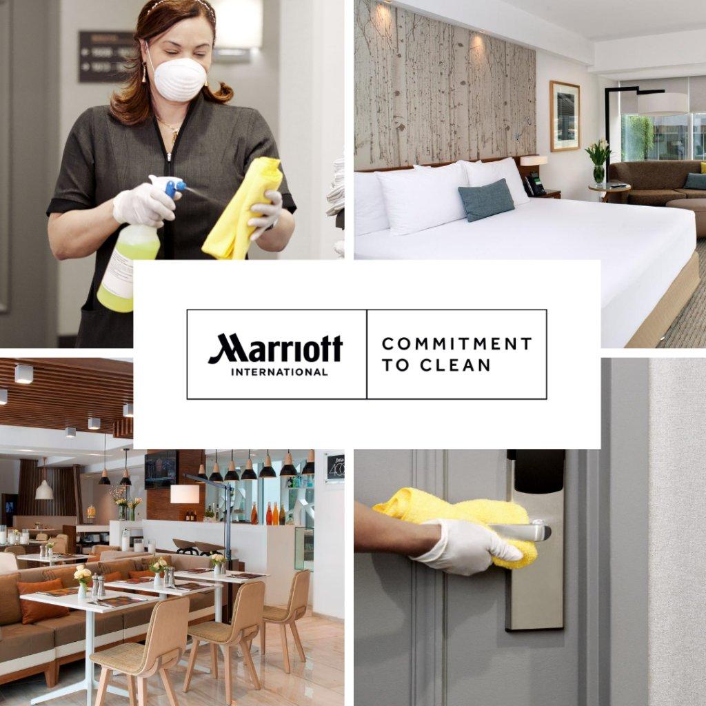 El Compromiso con la Limpieza de Marriott International ofrece espacios más limpios y seguros a sus huéspedes y socios, para que puedan viajar con tranquilidad. Esperamos darle la bienvenida muy pronto. https://t.co/UIhol38WoA