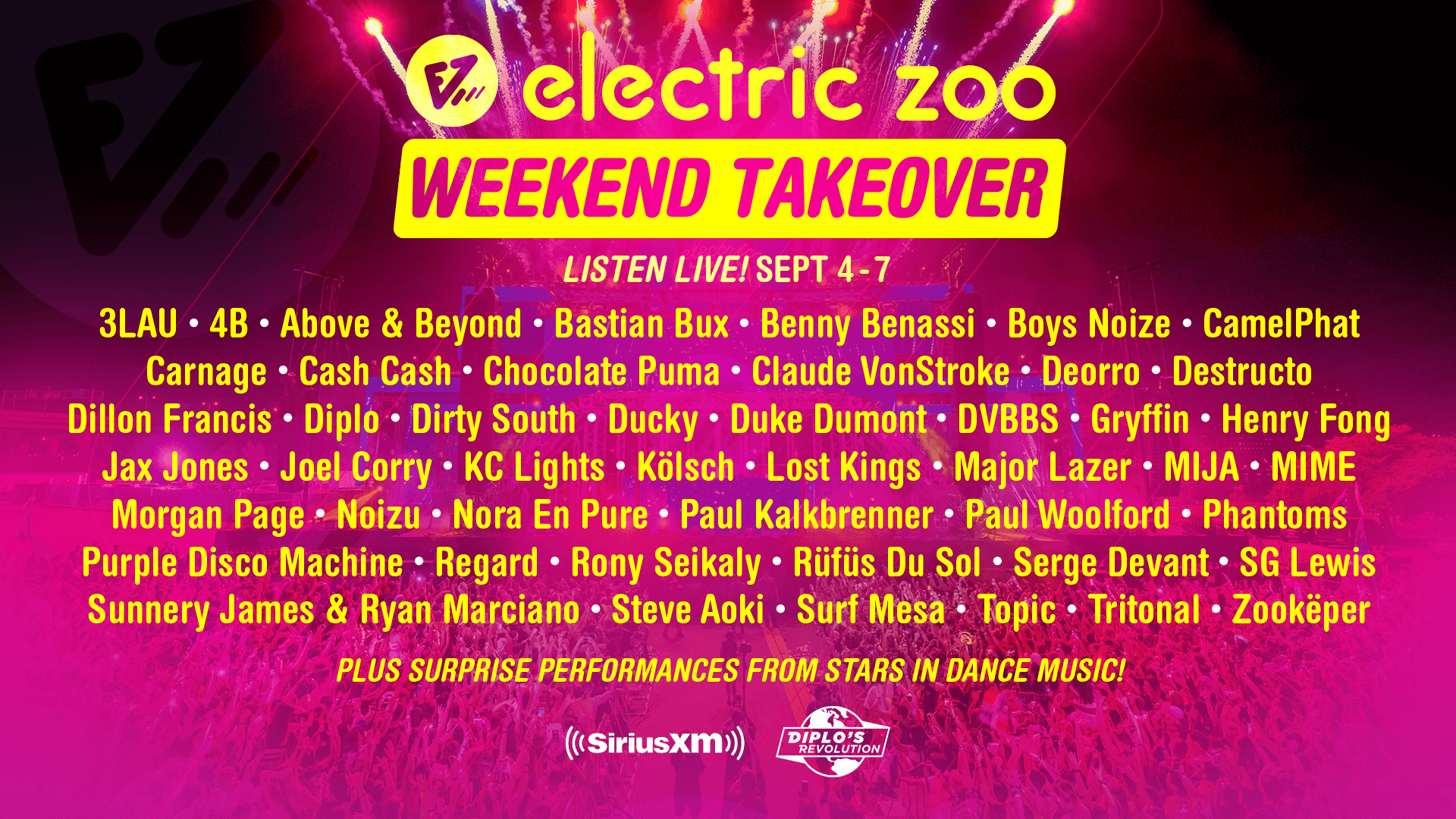 Electric Zoo SiriusXM