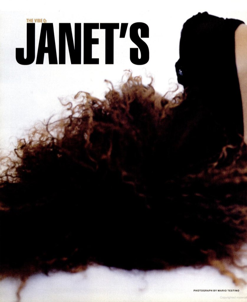 Janet Jackson, Vibe Magazine, November 1997